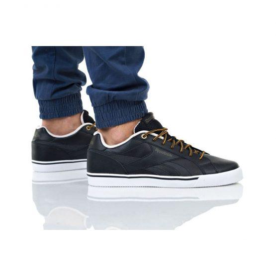 נעלי סניקרס ריבוק לגברים Reebok Royal Complete 3.0 - שחור מבריק