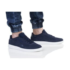 נעליים ריבוק לגברים Reebok ROYAL TECHQUE T - לבן/ כחול