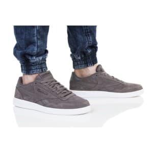 נעלי הליכה ריבוק לגברים Reebok ROYAL TECHQUE T LX - אפור