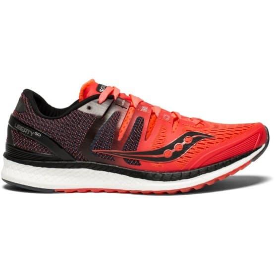נעליים סאקוני לנשים Saucony LIBERTY ISO - שחור/אדום