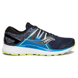 נעליים סאקוני לגברים Saucony OMNI ISO - שחור/תכלת