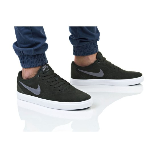 נעליים נייק לגברים Nike SB CHECK SOLAR - אפור/לבן