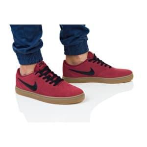 נעליים נייק לגברים Nike SB CHECK SOLAR - בורדו