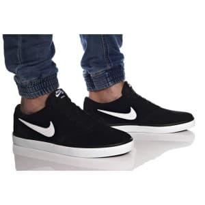 נעליים נייק לגברים Nike SB CHECK SOLAR - שחור/לבן