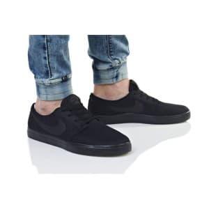 נעלי הליכה נייק לגברים Nike SB PORTMORE II ULTRALIGHT - שחור מלא