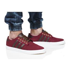 נעלי הליכה Adidas Originals לגברים Adidas Originals SEELEY - בורדו
