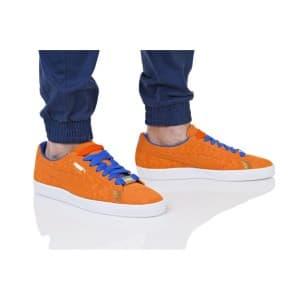 נעליים פומה לגברים PUMA SUEDE CLASSIC NYC - כתום