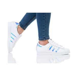 נעלי הליכה Adidas Originals לנשים Adidas Originals SUPERSTAR J - לבן