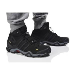 נעלי טיולים אדידס לגברים Adidas TERREX FAST R MID GTX - שחור