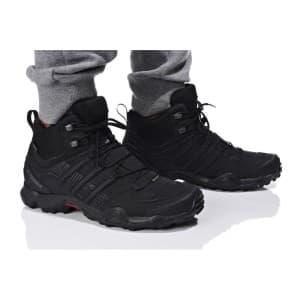נעלי טיולים אדידס לגברים Adidas TERREX SWIFT R MID GTX - שחור