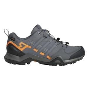 נעלי טיולים אדידס לגברים Adidas TERREX SWIFT R2 GTX - אפור/כתום