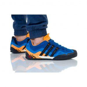 נעלי טיולים אדידס לגברים Adidas TERREX SWIFT SOLO - כחול/כתום