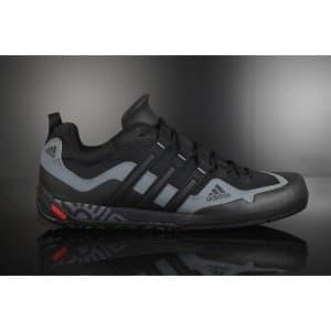 נעלי הליכה אדידס לגברים Adidas TERREX SWIFT SOLO - שחור/אפור