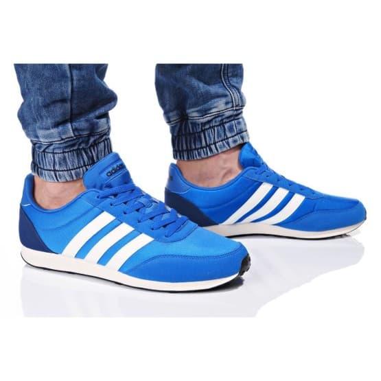 נעלי הליכה אדידס לגברים Adidas V RACER 2 - כחול/לבן