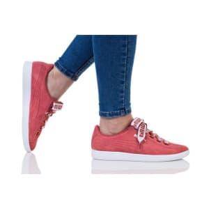 נעלי הליכה פומה לנשים PUMA VIKKY RIBBON BOLD - אפרסק