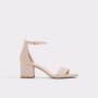 נעלי עקב גבוהות אלדו לנשים ALDO Villarosa - בז'