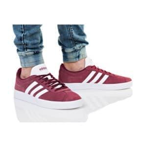 נעלי הליכה אדידס לגברים Adidas VL COURT 2 - בורדו