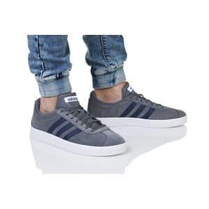 נעלי הליכה אדידס לגברים Adidas VL COURT 2 - אפור/כחול
