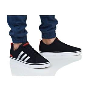 נעלי הליכה אדידס לגברים Adidas VS PACE - שחור/אדום