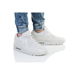 נעליים נייק לגברים Nike AIR MAX 90 PREMIUM - לבן
