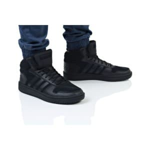 נעלי הליכה אדידס לגברים Adidas HOOPS 2 MID - שחור מלא