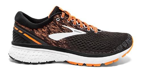 נעליים ברוקס לגברים Brooks Ghost 11 - כתום/שחור