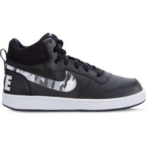 נעלי הליכה נייק לנשים Nike COURT BOROUGH MID - שחור/לבן