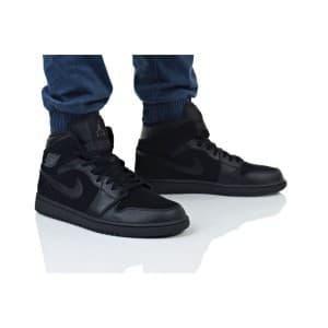 נעלי הליכה נייק לגברים Nike AIR JORDAN 1 MID - שחור