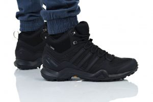 נעליים אדידס לגברים Adidas TERREX SWIFT R2 MID GTX - שחור