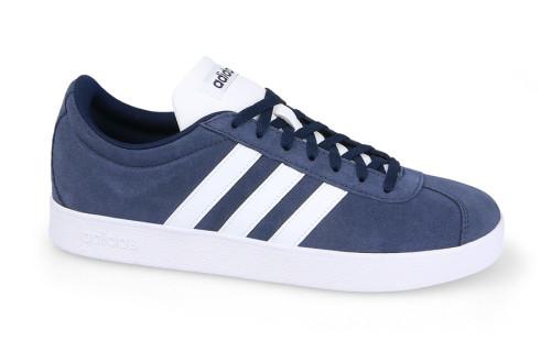 נעלי הליכה אדידס לגברים Adidas VL COURT 2 - כחול/לבן