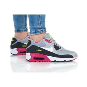 נעלי הליכה נייק לנשים Nike AIR MAX 90 MESH - אפור/ורוד