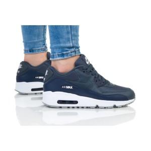 נעלי הליכה נייק לנשים Nike AIR MAX 90 MESH - כחול כהה