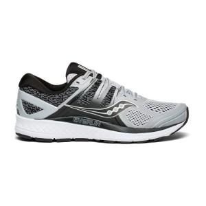 נעליים סאקוני לגברים Saucony OMNI ISO - אפור/לבן