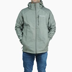 בגדי חורף קולומביה לגברים Columbia Cascade Ridge II Softshell - ירוק