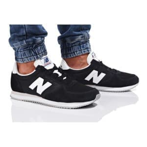 נעליים ניו באלאנס לגברים New Balance U220 - שחור/לבן