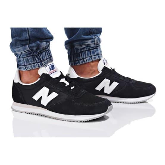 נעלי סניקרס ניו באלאנס לגברים New Balance U220 - שחור/לבן