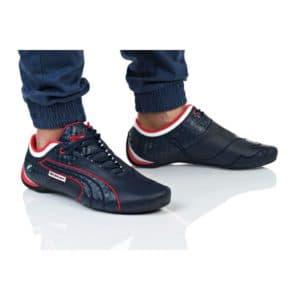 נעלי הליכה פומה לגברים PUMA BMW MS FUTURE CAT M1 - כחול/אדום