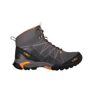 נעלי טיולים סמפ לגברים CMP Tauri Mid - אפור/כתום