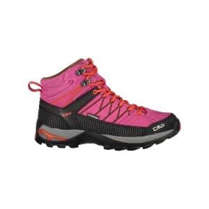 נעלי טיולים סמפ לנשים CMP Rigel mid - ורוד/אדום