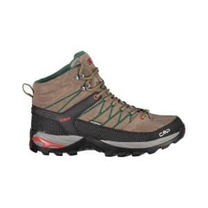 נעלי טיולים סמפ לגברים CMP Rigel mid - חום/ירוק
