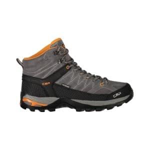 נעלי טיולים סמפ לגברים CMP Rigel mid - אפור/כתום