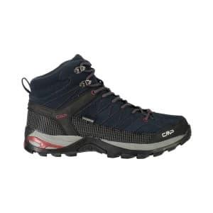 נעלי טיולים סמפ לגברים CMP Rigel mid - כחול/אדום