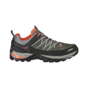 נעלי טיולים סמפ לגברים CMP Rigel low - אפור/כתום