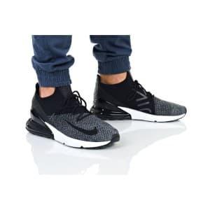 נעלי הליכה נייק לגברים Nike AIR MAX 270 FLYKNIT - אפור/שחור