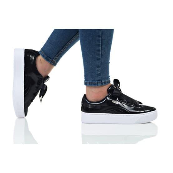 נעליים פומה לנשים PUMA VIKKY PLATFORM RIBBON P - שחור