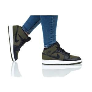 נעלי הליכה נייק לנשים Nike AIR JORDAN 1 MID - ירוק