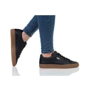 נעלי הליכה פומה לנשים PUMA BASKET CLASSIC GUM JR - שחור/חום