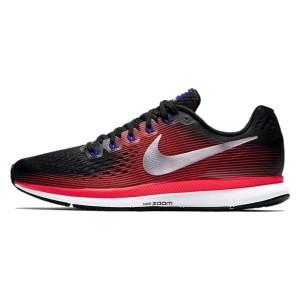 נעליים נייק לגברים Nike Air Zoom Pegasus 34 - שחור/אדום
