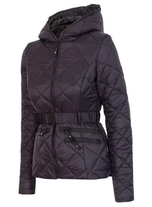 בגדי חורף פור אף לנשים 4F KUD006 - שחור