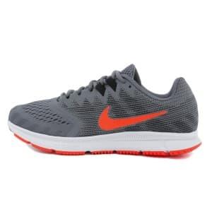 נעליים נייק לגברים Nike Air Zoom Span 2 - אפור/כתום